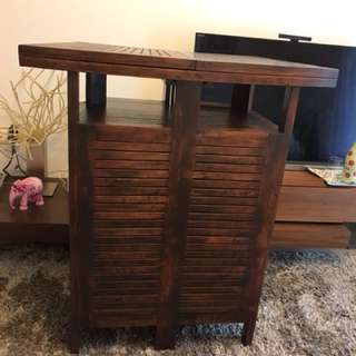 Teak Bar Counter