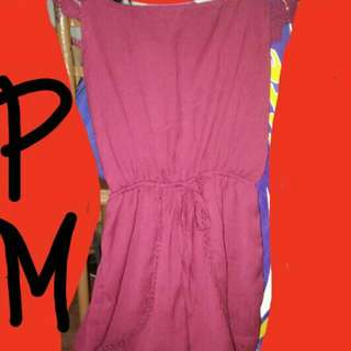 Romper Used Once In Very Very Very Good Condition So Comfortable To Wear. I Dont Use It Because It Is Not Suitable To My Height.