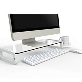 Monitor Stand (Tempered Glass)
