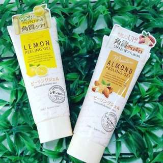 Daiso Japan Peeling Gel( Lemon/ Almond)