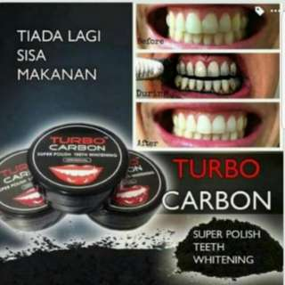 (INSTOCK AVAIL) Authentic Turbo Carbon Super Polish Teeth Whitening PO