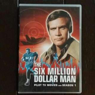 The Six Millon Dollar Man Pilot TV Movies And Complete Season One DVD Set