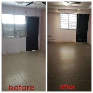 Fast and cheap renovation