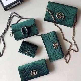 Gucci Marmont Velvet Inspired
