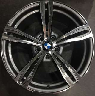 """19"""" staggered rims for bmw"""