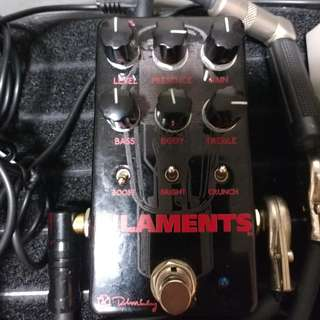 Keeley Filaments Distortion Pedal