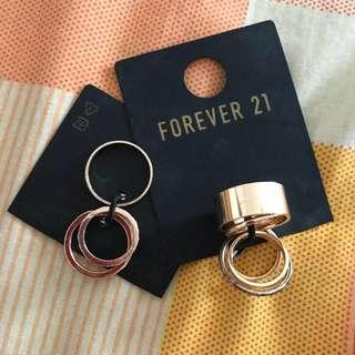 Forever21 multiple finger ring