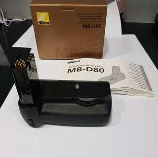 Nikon Battery Grip MB-D80
