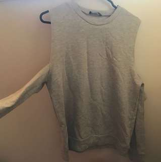 MISSGUIDED CUT OUT SWEATER BRAND NEW