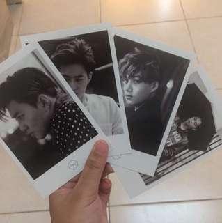 EXO Exodus Offical Polaroid