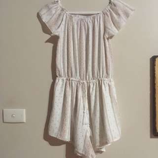 "Peppermayo ""reverse"" size small play suit"