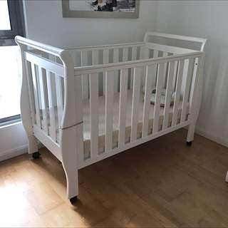 Baby Cot Get Free Mattress