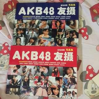 AKB48 友攝 中文版 2本