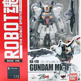 Bandai Robot Spirits Gundam RX-78 Mk 2 with Stage Act.5 display stands