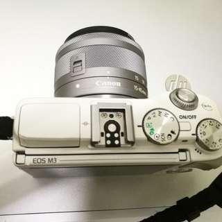 canon cos m3 mirrorless camera