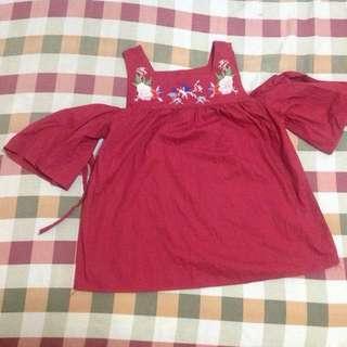 Blouse (patch blouse)