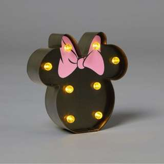 Shaped Mini Marquee Light - Mickey and Minnie Mouse
