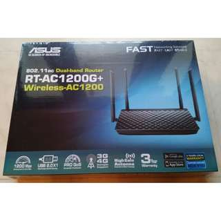 Brand New ASUS RT-AC1200G+ Dual-Band Wi-Fi Router