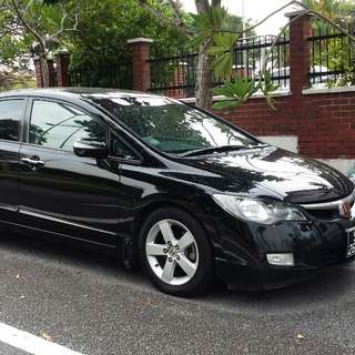 Uber/Grab Honda civic 1.8 Auto