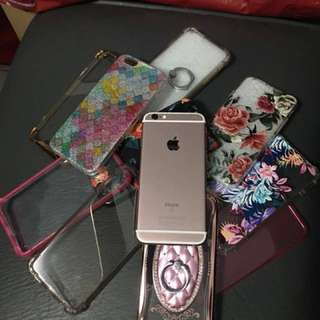 Iphone 6S Rosegold 128GB (REPRICED!!)
