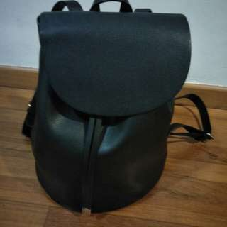 BN ZARA black backpack