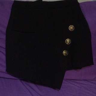不規則短裙褲