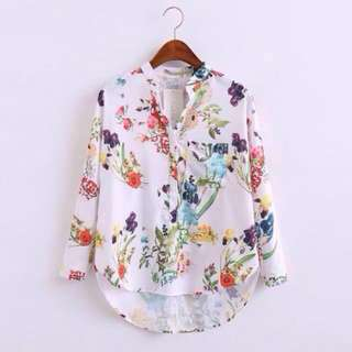 ✨Floral Shirt *Currently Out of stock, will update once available.
