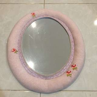 Kaca anak2, children's mirror