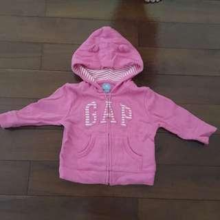 🚚 Gap 熊耳朵外套 (6-12M)
