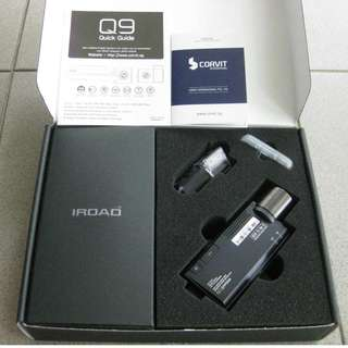Iroad Q9 HD Dash Cam (Front and Rear)