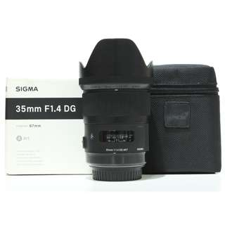 Sigma 35mm f1.4 DG HSM Art Lens for Canon Mount