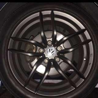 """VW 17"""" rims"""