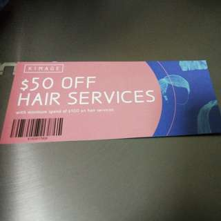 Kimage Hair styling voucher