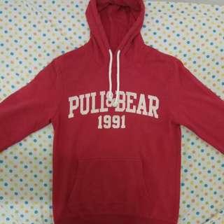 Hoodie Pull&Bear Red