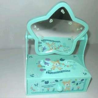 sanrio hummingmint 鏡首飾盒