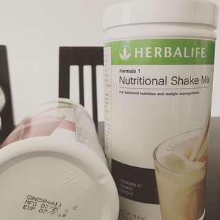 Herbalife Nutritional Shake and Personalized Protein