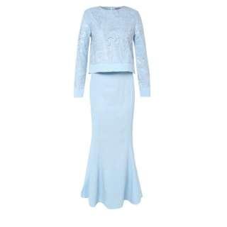 Zalia Dress Blue (net)