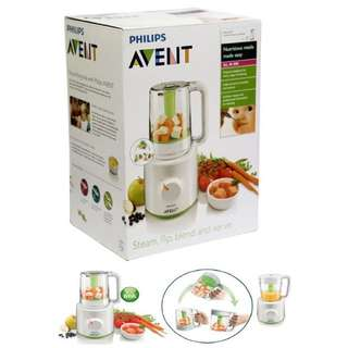 PHILIPS AVENT authentic Steam, Flip, Blend nutritious meals made easy all in ONE