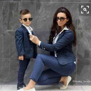Mother and Son OOTD