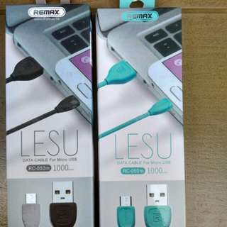 USB Cable Remax Lesu Series 1M For Android and Iphone/ios