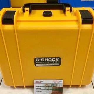 HARDCASE WATCH BOX G-SHOCK LlMITED EDITION