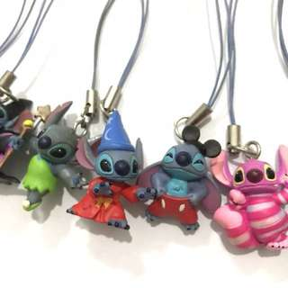 Stitch in Disney Costume handphone charm!