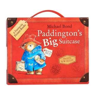 Paddington Bear Paddington's Big Suitcase 6 Books Collection