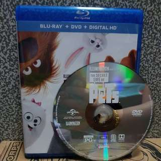 Brand New USA Original DVD only. The Secret Life of Pets