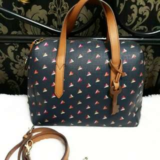 Fossil navy heart original