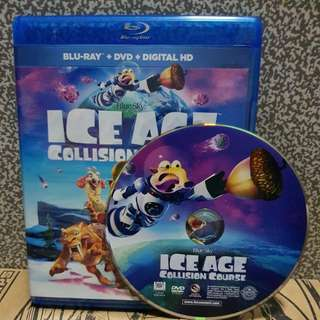 Brand New Original DVD Disc Only. Ice Age Collison Course