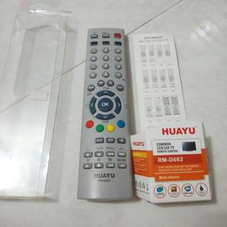 Universal Toshiba LCD Or LED TV Remote Control RM-602