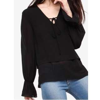 Layered Blouse From ZALORA