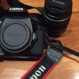 Canon 7D w/lens