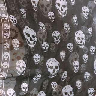 mcqueen 絲巾
